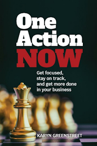 One Action Now Book Cover
