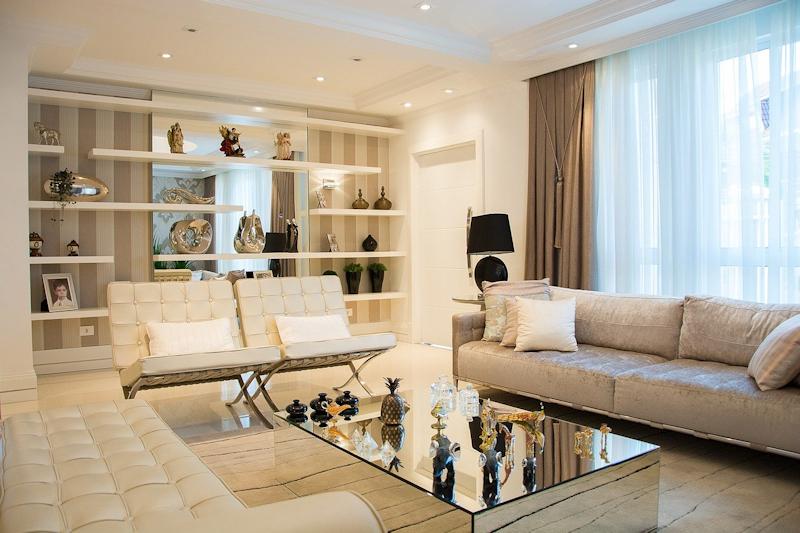 living room tan