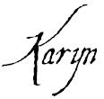 Karyn signature